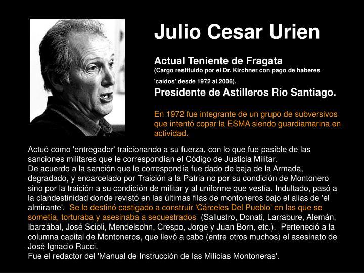 Julio Cesar Urien