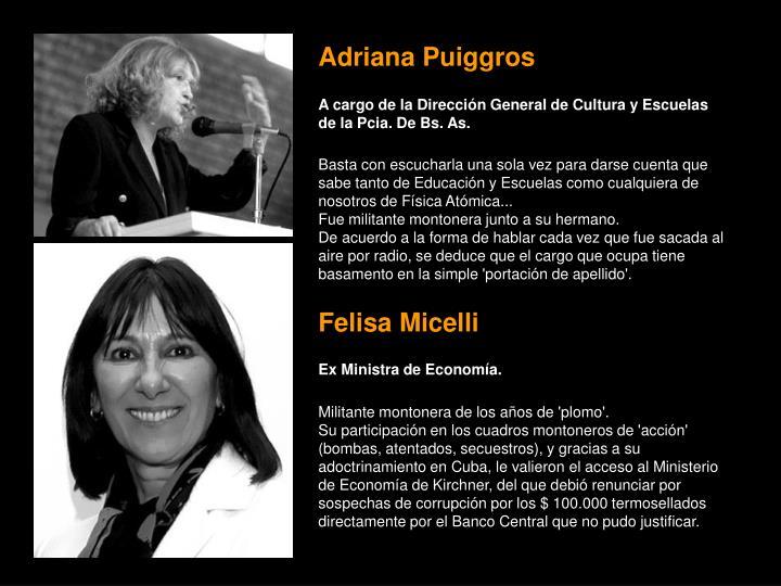 Adriana Puiggros