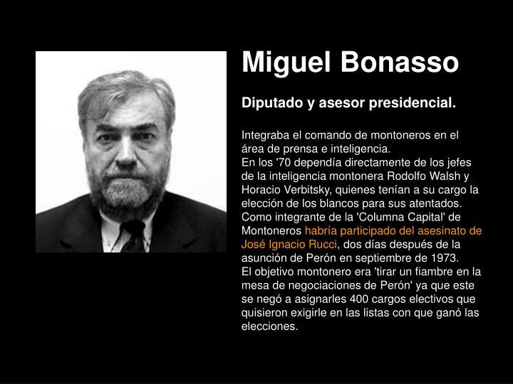 Miguel Bonasso