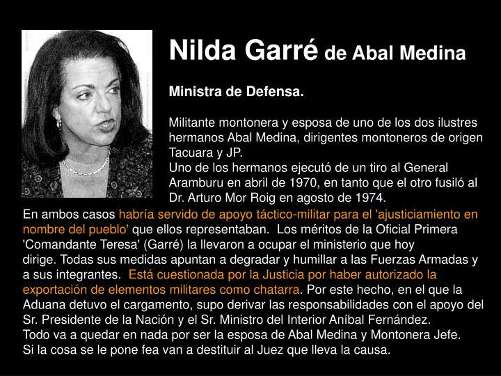 Nilda Garré