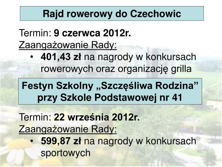 Rajd rowerowy do Czechowic