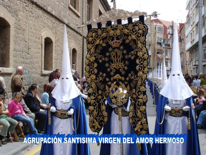 AGRUPACIÓN SANTISIMA VIRGEN DEL AMOR HERMOSO