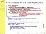 gestione di uno stack di interi file stoi uti c1