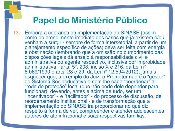 Papel do Ministério Público