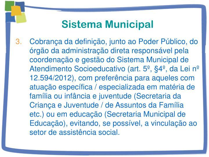 Sistema Municipal