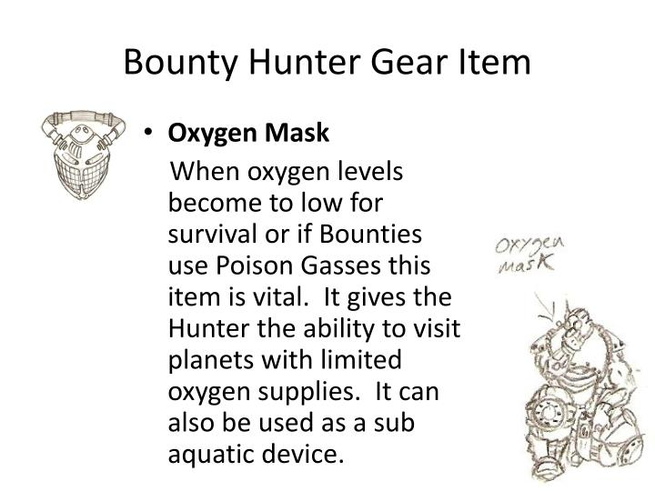 Bounty Hunter Gear Item