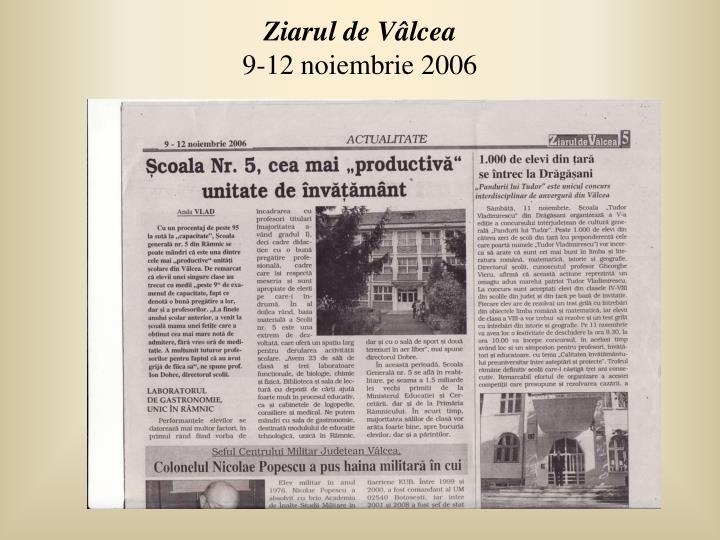 Ziarul de Vâlcea