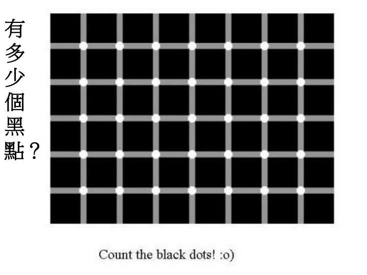 有多少個黑點?