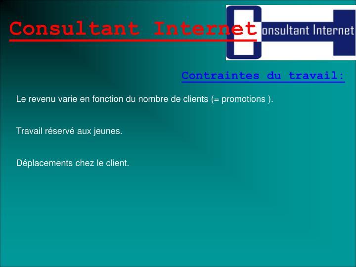 Consultant Internet