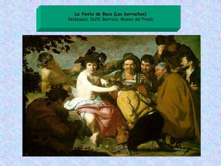 La fiesta de Baco (Los borrachos)