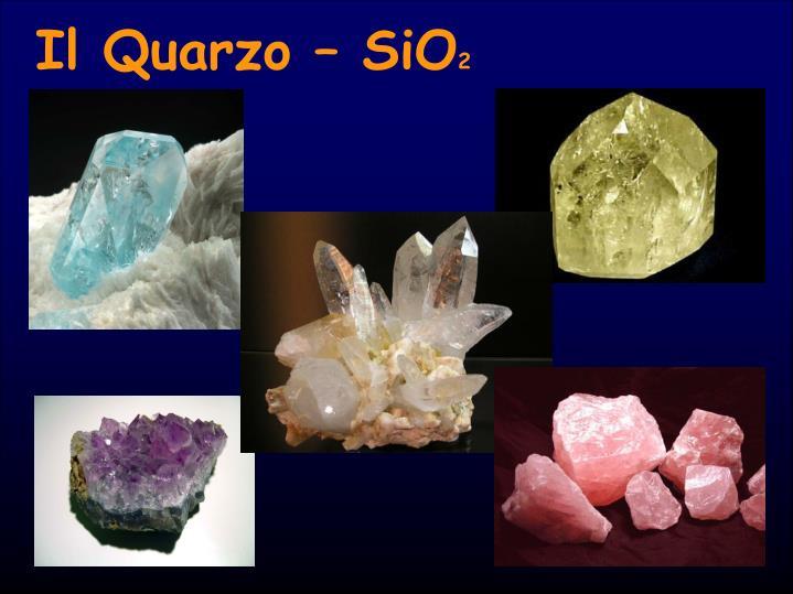 Il Quarzo – SiO