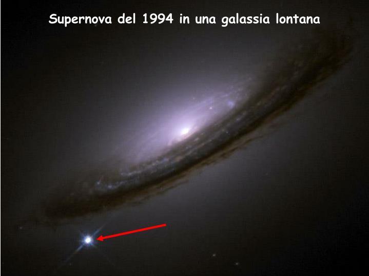 Supernova del 1994 in una galassia lontana