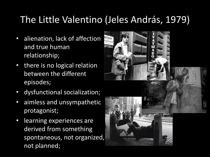 The Little Valentino (Jeles András, 1979)