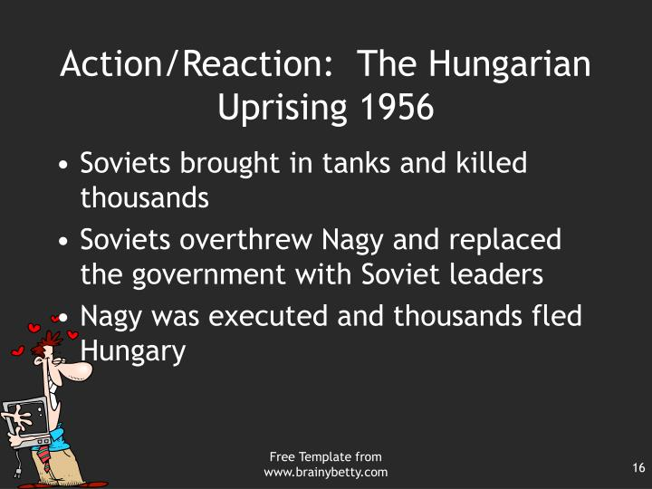 Action/Reaction:  The Hungarian Uprising 1956