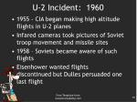 u 2 incident 1960