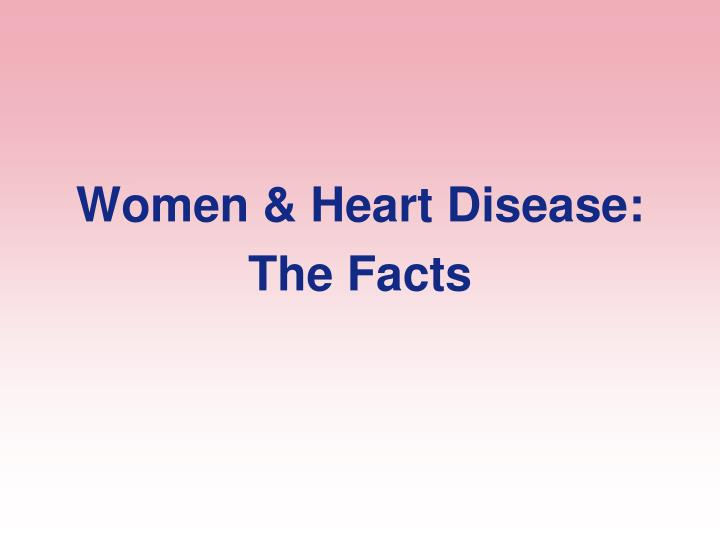Women & Heart Disease: