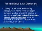 from black s law dictionary
