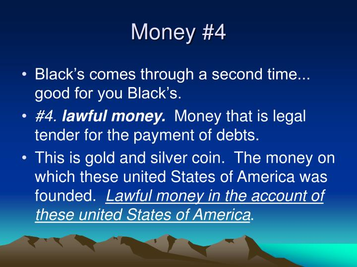 Money #4