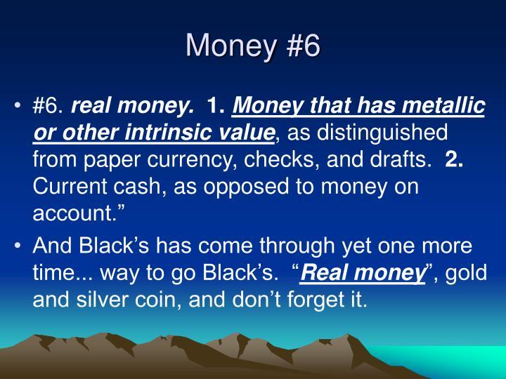 Money #6