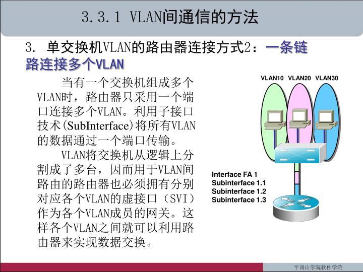 3.3.1 VLAN