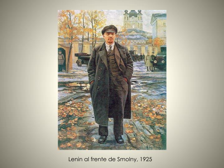 Lenin al frente de