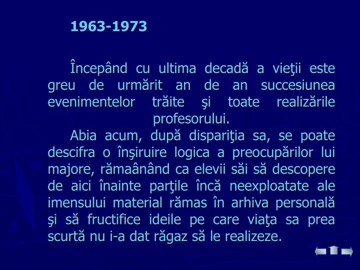1963-1973