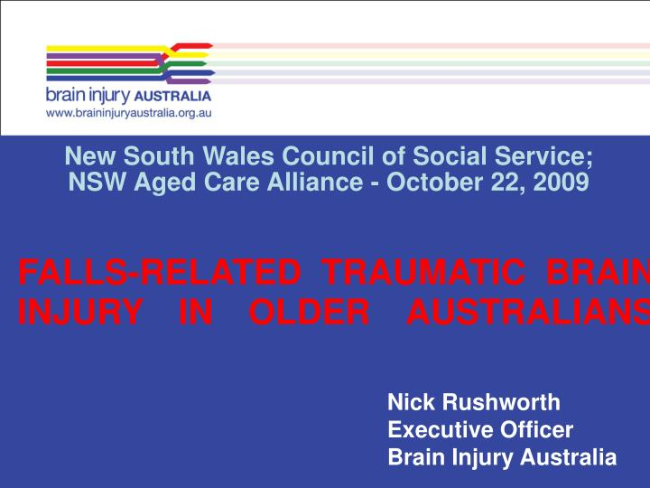 New South Wales Council of Social Service;