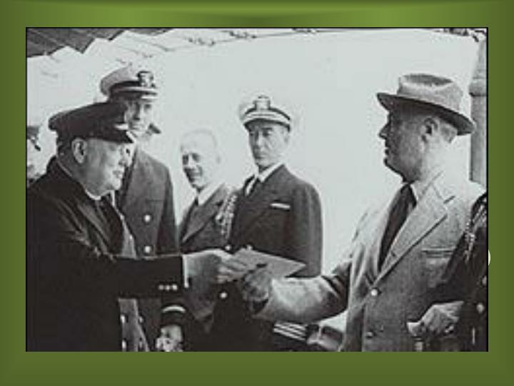 O Primeiro período (1939 – 1941)