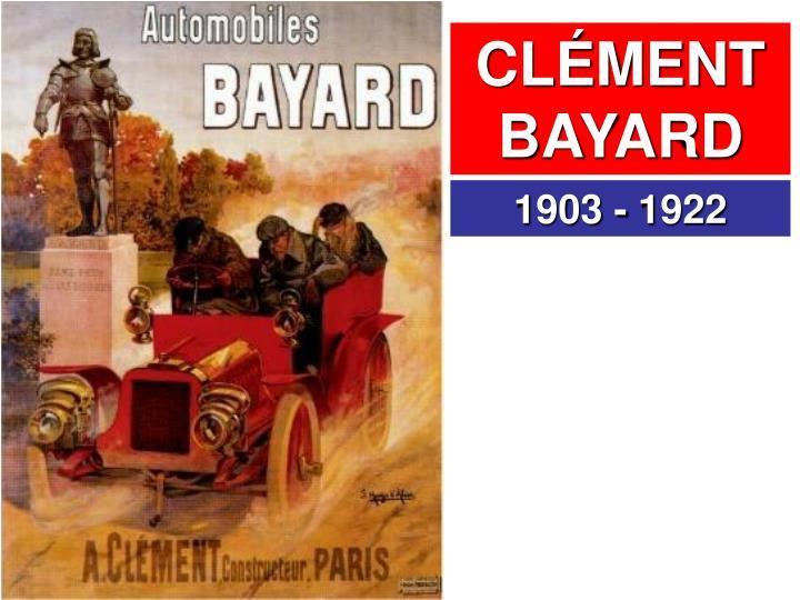 CLÉMENT BAYARD