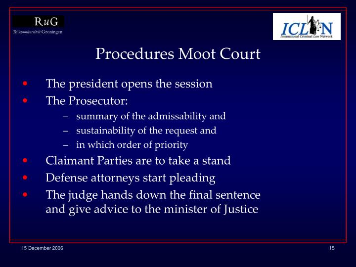 Procedures Moot Court