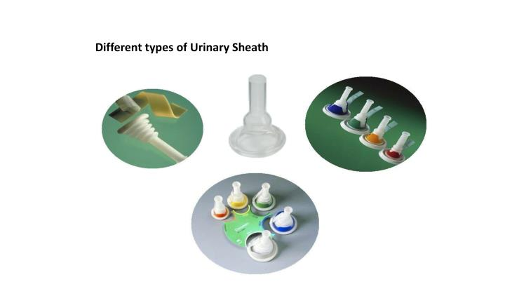 Different types of Urinary Sheath