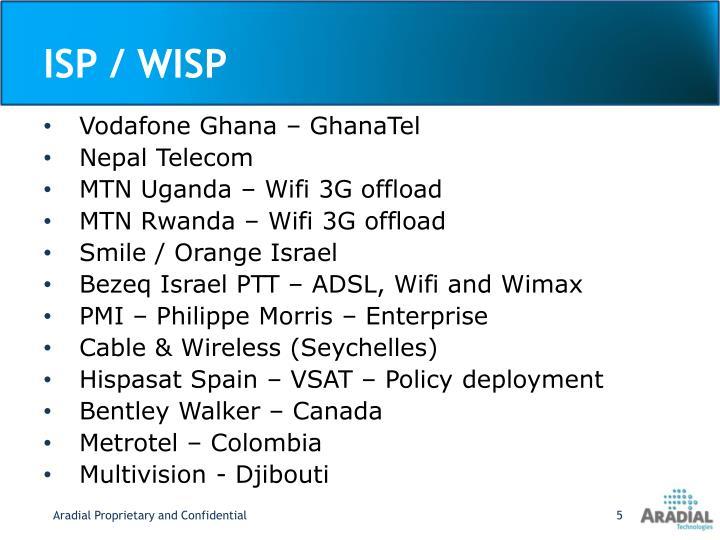 ISP / WISP