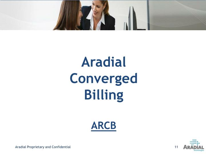 Aradial Converged Billing