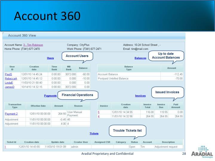 Account 360