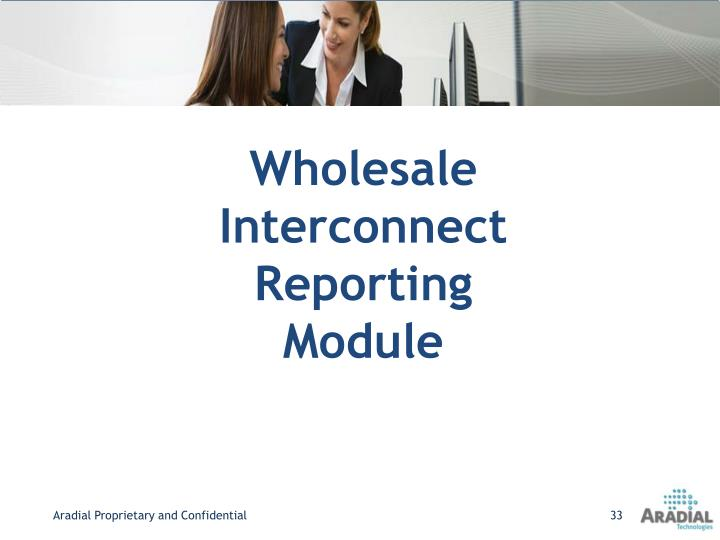 Wholesale Interconnect