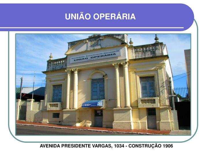 UNIÃO OPERÁRIA