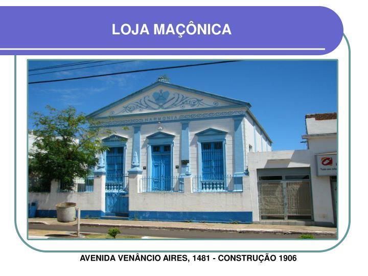 LOJA MAÇÔNICA
