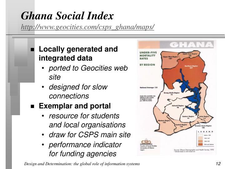 Ghana Social Index