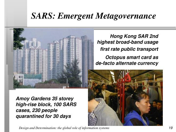 SARS: Emergent Metagovernance