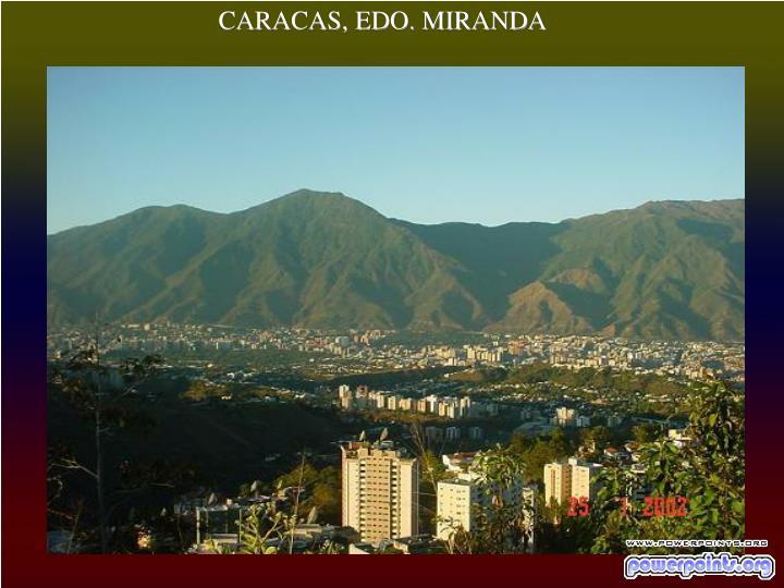CARACAS, EDO. MIRANDA