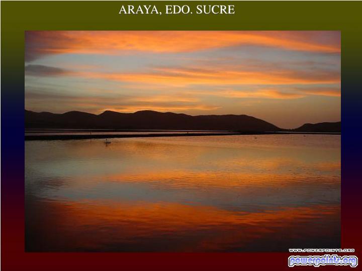ARAYA, EDO. SUCRE