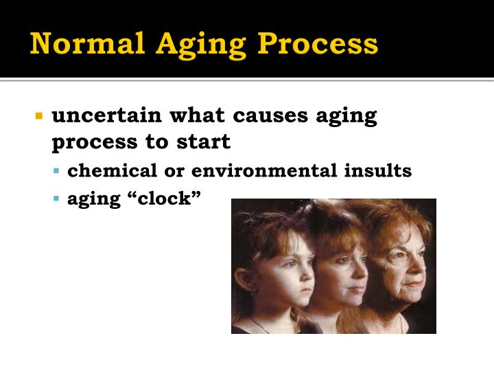 Normal Aging Process