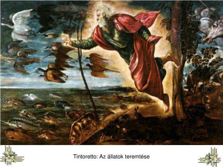 Tintoretto: Az állatok teremtése
