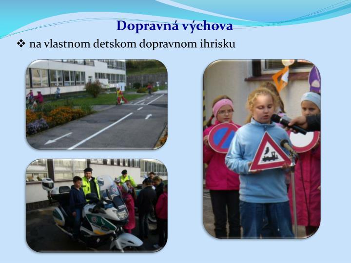 Dopravná výchova