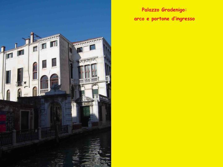 Palazzo Gradenigo: