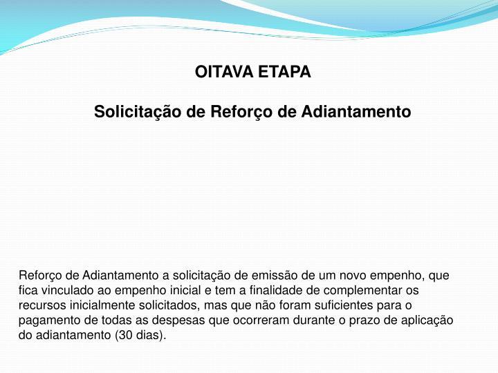 OITAVA ETAPA