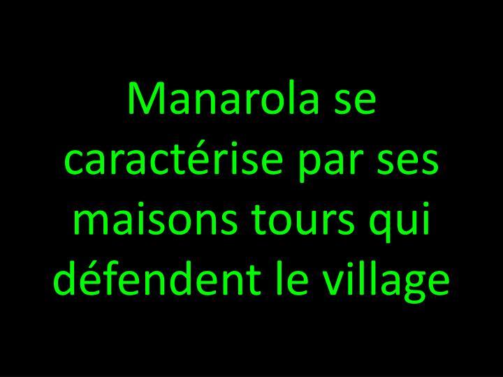 Manarola se
