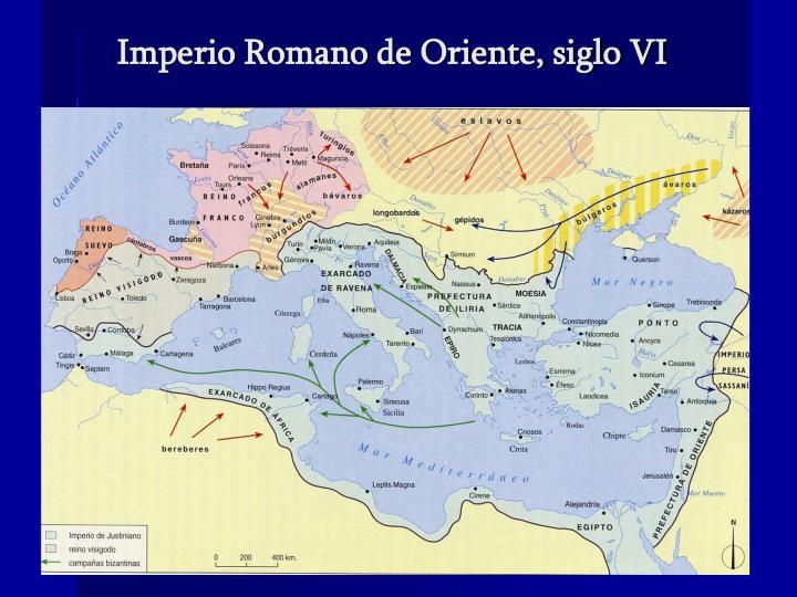 Imperio Romano de Oriente, siglo VI