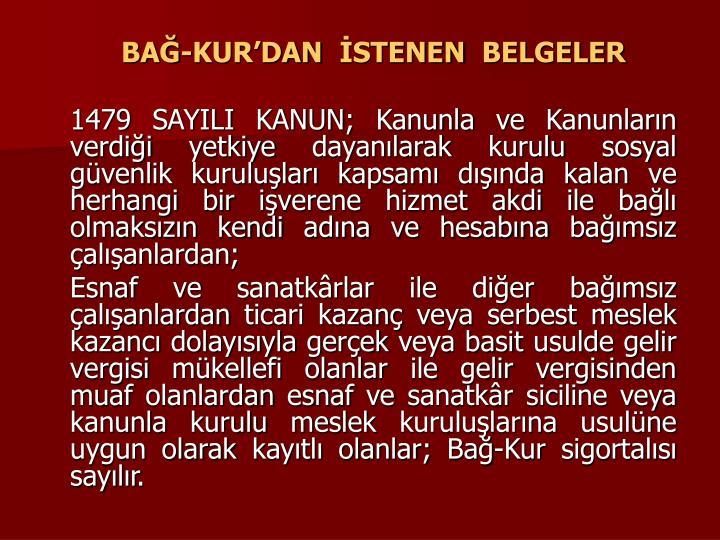 BA-KURDAN STENEN BELGELER