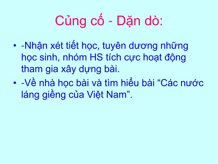 Cng c - Dn d: